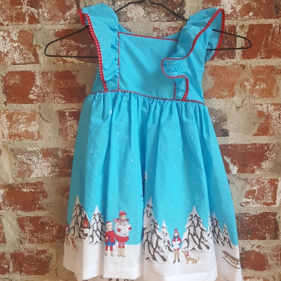 a0a1f2f4e4d4 Eleanor Rose Other - New Eleanor Rose Christmas dress size 4 5